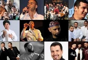 Antara artis yang terlibat dengan Islamic Song Festival. Ada Le Rappel dari Perancis, Debu dari Indonesia, Budi dari German dan ramai lagi.