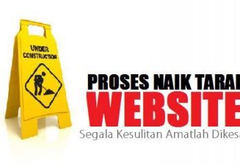 proses naik taraf website
